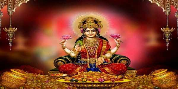 Worship Hindu Goddess Lakshmi Devi for Wealth